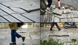 Hà Nội chấn chỉnh các dự án lát đá vỉa hè trước Tết Nguyên đán