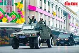 Công an TP Hà Nội ra quân phục vụ Đại hội XIII của Đảng
