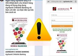Cảnh báo tin nhắn mạo danh ngân hàng 'tặng quà lì xì' năm mới