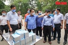 Hà Nội 'rốt ráo' kiểm tra phòng, chống dịch COVID-19 tại cơ sở cách ly, địa điểm công cộng