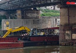 Hà Nội phân chia giờ cấm đường thuỷ phục vụ tu sửa cầu Đuống
