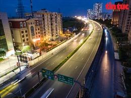 Cửa ngõ Thủ đô Hà Nội vắng vẻ trong ngày nghỉ lễ cuối cùng