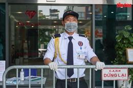 Lập rào chắn cách ly y tế tạm thời tòa nhà The Legacy Hà Nội