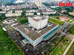 Bệnh viện Bệnh Nhiệt đới Trung ương cơ sở 2 quá tải, 11 bệnh nhân COVID-19 được chuyển sang Bệnh viện Thanh Nhàn