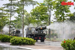 Hà Nội dự kiến phun khử khuẩn diện rộng trên địa bàn Thủ đô
