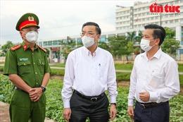 Hà Nội lập 4 chốt cách ly y tế Bệnh viện Bệnh Nhiệt đới cơ sở Kim Chung