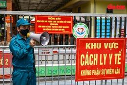 Phong toả Bệnh viện Bắc Thăng Long vì người phụ nữ bán rau dương tính COVID-19 từng đến khám