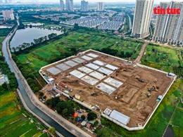 Hà Nội xây dựng bệnh viện dã chiến tại quận Hoàng Mai