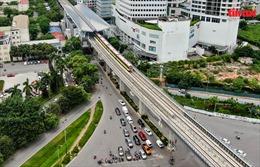 Vận hành thử nghiệm liên động tuyến đường sắt trên cao đoạn Nhổn – Cầu Giấy