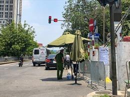 Hà Nội phong tỏa phường Chương Dương do có dân quân tự vệ mắc COVID-19