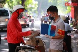 Phát hiện mã QR Code giả trên giấy đi đường tại Hà Nội
