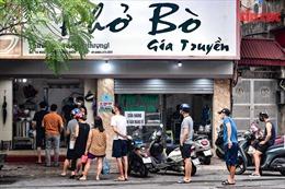 Hà Nội: Danh sách 19 địa phương được bán hàng ăn, uống mang về từ 12 giờ ngày 16/9