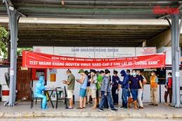 Hà Nội vẫn dừng vận tải hành khách, tạo điều kiện cho 'luồng xanh' vận chuyển hàng hoá