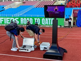 Hoàn thiện công nghệ VAR trên sân Mỹ Đình trước trận Việt Nam - Australia