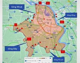Hà Nội lập 21 chốt kiểm soát COVID-19 tại 'vùng đỏ' từ ngày 4/9