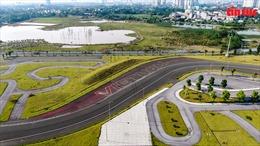 Hiện trạng trường đua F1 sau khi bị Khu Liên hợp Thể thao Quốc gia đòi lại đất