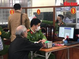 Hà Nội tiếp tục nhận hồ sơ cấp Căn cước công dân gắn chíp