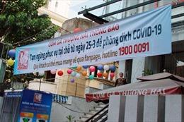 Các cơ sở kinh doanh ăn uống tại TP Hồ Chí Minh không được phục vụ tại chỗ