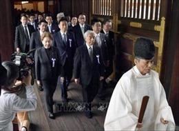 Một nhóm nghị sĩ Nhật Bản viếng đền Yasukuni