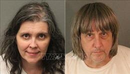 Cặp vợ chồng ở California ngược đãi con đẻ bị tuyên án chung thân