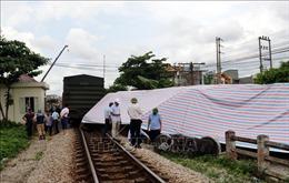 Thông tuyến đường sắt Bắc – Nam sau sự cố tại ga Đặng Xá ở Nam Định
