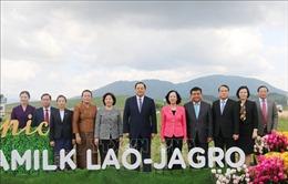 Việt Nam - Lào - Nhật Bản hợp tác phát triển nông nghiệp công nghệ cao