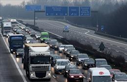 Tắc đường ngày càng tăng tại các thành phố lớn ở Đức