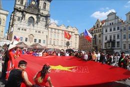 Sắc màu Việt Nam bừng sáng trong Lễ hội các dân tộc thiểu số tại CH Séc