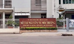 Kỷ luật cảnh cáo Bí Đảng ủy, Giám đốc Sở Tài nguyên và Môi trường tỉnh An Giang