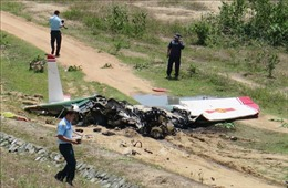 Làm rõ nguyên nhân vụ máy bay huấn luyện rơi tại Khánh Hoà