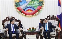 Quan hệ Việt Nam - Lào đang phát triển tốt đẹp