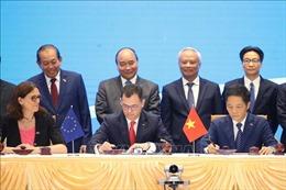 Lễ ký Hiệp định EVFTA và IPA