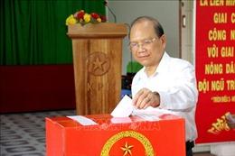 Cử tri Bình Thuận bỏ phiếu bầu trực tiếp 670 trưởng thôn, khu phố