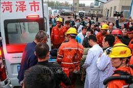 Rò rỉ khí độc ở mỏ than, 15 người thương vong