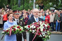 Tân Tổng thống Latvia tuyên thệ nhậm chức