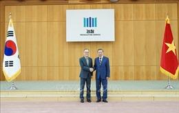 Bộ trưởng Công an Tô Lâm hội đàm với Tổng Công tố Hàn Quốc Moon Moo-il