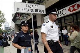 Xưởng đúc tiền vàng ở Mexico bị cướp hơn 2 triệu USD giữa ban ngày