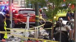 Đâm xe liên hoàn làm 2 trẻ em thiệt mạng, ít nhất 10 người bị thương