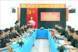 Tòa án quân sự hai nước Việt Nam - Lào tăng cường trao đổi kinh nghiệm xét xử