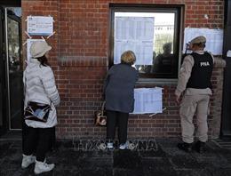 Argentina bắt đầu bầu cử tổng thống sơ bộ