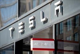 Xe điện Tesla bốc cháy tại thủ đô Moskva, Nga