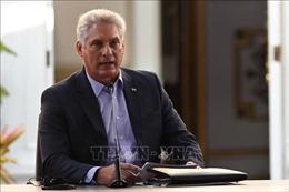Điện mừng lãnh đạo Cộng hòa Cuba
