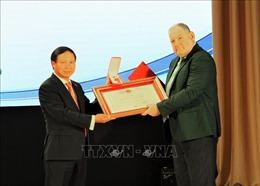 Việt Nam trao tặng Huân chương Hữu nghị cho Đại học tổng hợp Quốc gia Pyatigorsk của LB Nga