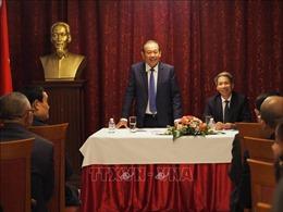 Phó Thủ tướng Trương Hòa Bình gặp gỡ cộng đồng người Việt tại Bulgaria