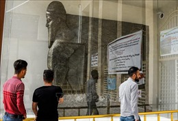 Phục dựng tượng vị thần bảo vệ thời Assyria cổ đại từng bị IS phá hủy