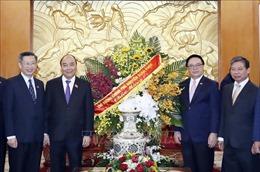 Thủ tướng Nguyễn Xuân Phúc chúc mừng Ban Đối ngoại Trung ương Đảng