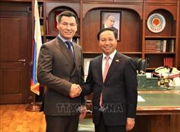 Đại sứ quán Việt Nam tại Liên bang Nga thúc đẩy quan hệ với Cộng hòa Kalmykia