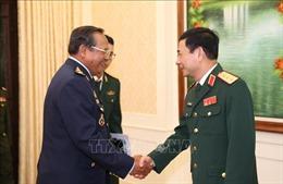 Tổng Tham mưu trưởng QĐND Việt Nam tiếp Tổng Tư lệnh Quân đội Hoàng gia Campuchia