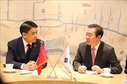 Đoàn công tác của thành phố Hà Nội thăm và làm việc tại Hàn Quốc