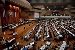 Quốc hội Cuba tiến hành kỳ họp hoàn thiện bộ máy thể chế